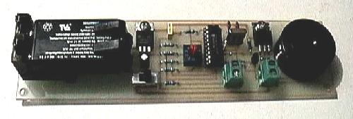 Photo of the parachute timer module