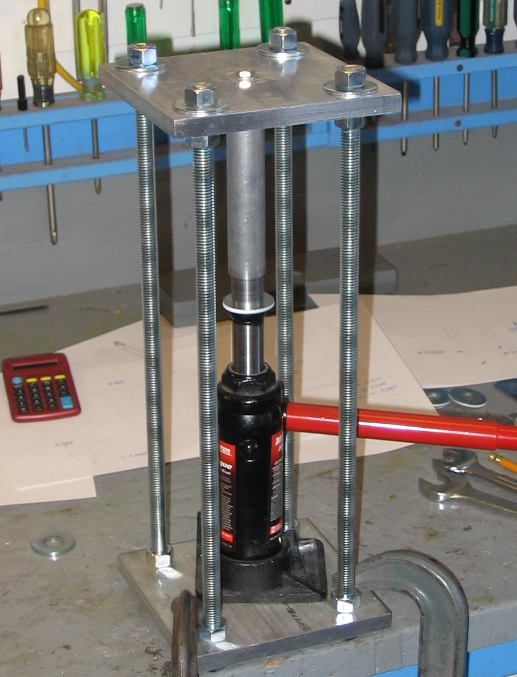 Prensa hidraulica casera pdf